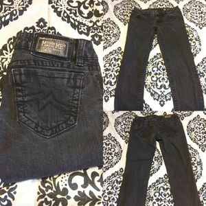Miss Me Black Skinny Jeans Size 28 Low rise